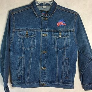 Vintage planet Hollywood Jean jacket youth XL/12